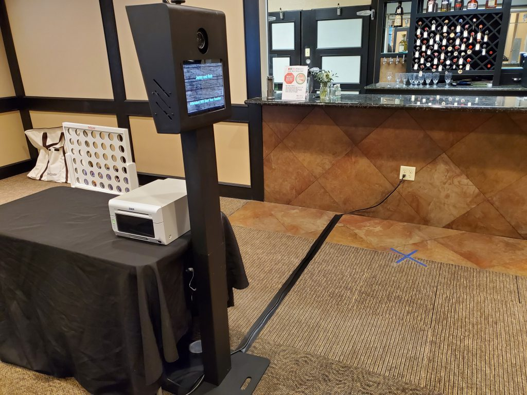 FotoFunSize II and printer setup and ready