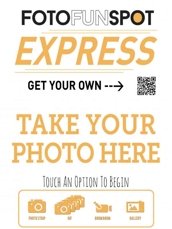 FotoFunSpot Express Home Screen